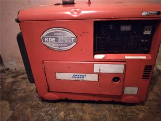 Generador Eléctrico Diésel 7kw, Puerto Rico