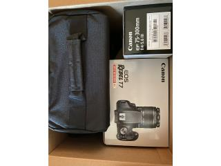 Canon rebel t7 kit con dos lentes nueva  , Puerto Rico