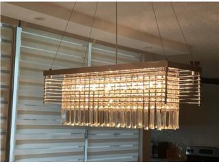 Lámpara chandelier , Puerto Rico