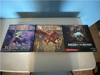 Dungeons & Dragons juegos de mesa colleción, Puerto Rico