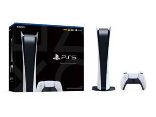 Sony PlayStation 5 Edición digital, Puerto Rico