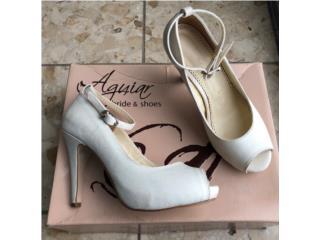 Zapatos de Novia size 7 marca Aguiar , Puerto Rico