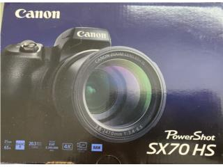 Camara Canon 4KCanon 4K PowerShot SX70 HS , Puerto Rico