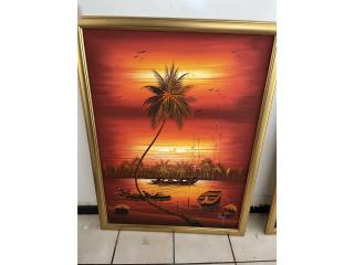 Se vende cuadro con marco, Puerto Rico