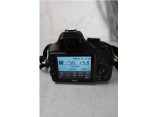 Nikon D3300 con lente 50mm f1.8 y 18-55mm, Puerto Rico