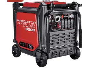Generador eléctrico Predator 9500 inverter, Puerto Rico
