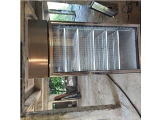 Freezer  de  lujo una Puerta industrial  , Puerto Rico