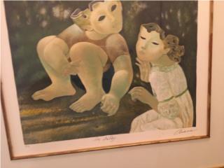 Cuadro de arte, Puerto Rico