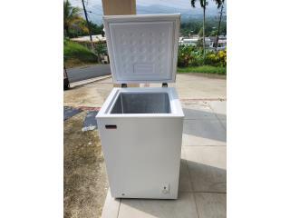 Freezer pequeño, Puerto Rico