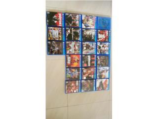 Lote de juegos Playstation 4, Puerto Rico