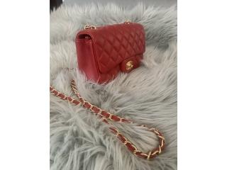 Cartera Classic flap small red, Puerto Rico