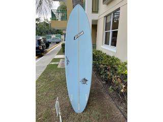 Pelícano surfboard, Puerto Rico