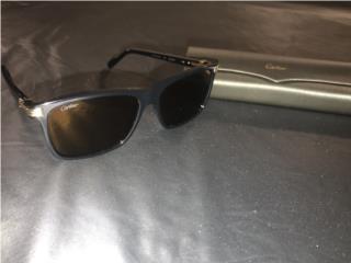 Gafas Cartier Negra con Oro 18k, Puerto Rico