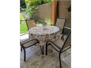 Juego de terraza mesa 4 sillas , Puerto Rico