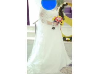 Traje de novia con velo, Puerto Rico
