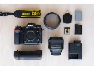 Nikon D500 + lente 85mm, Puerto Rico