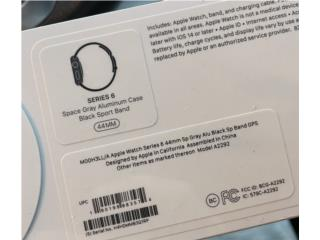 Apple Watch Serie 6 NEW, Puerto Rico