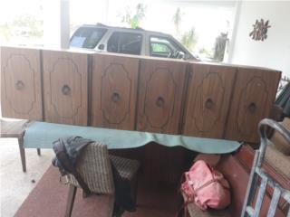 Gabinetes en caoba, Puerto Rico