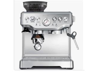 Máquina café expreso Breville, Puerto Rico