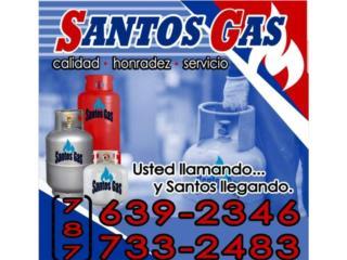 GAS PROPANO REFILL , TANUQES NUEVO Y INSTALAC, Puerto Rico