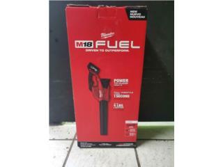Blower Milwaukee Fuel con Bateria 8.0 amperes, Puerto Rico