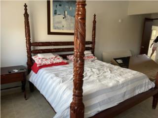 Estructura cama king, Puerto Rico