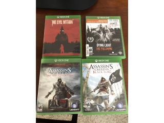Xbox one games, Puerto Rico