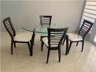 Juego de comedor de 4 sillas, Puerto Rico