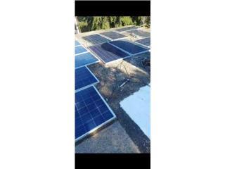 8  paneles  solares  usados, Puerto Rico