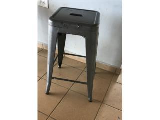 5 stool de metal counter height para exterior, Puerto Rico