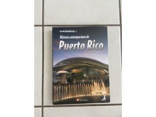 Libro Historia contemporánea de Puerto Rico , Puerto Rico