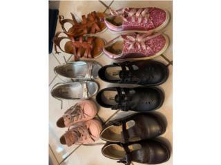 Zapatos Niñas 12, 1  y 1 1/2, Puerto Rico