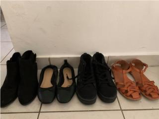 Zapatos Niña/Mujer Size 6 y 7, Puerto Rico