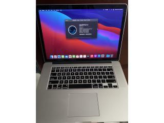 MacBook Pro 15 retina Logic,photoshop,finalcu, Puerto Rico