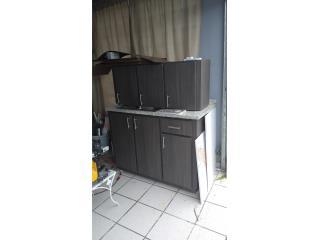 Gabinete de cocina PVC 3/4, Puerto Rico