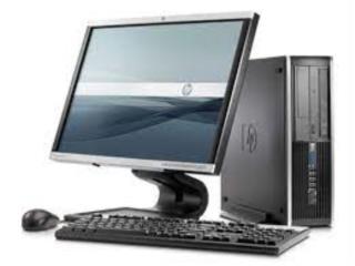 HP COMPAQ ELITE con monitor, Puerto Rico