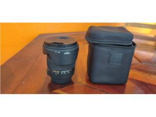 Lente Sigma 17-50mm DX para Nikon F-mount , Puerto Rico