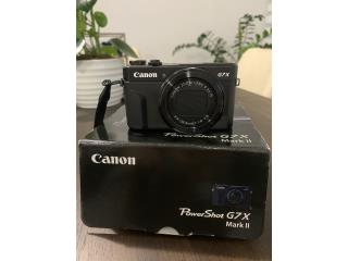 Cámara Canon PowerShot GX Mark II., Puerto Rico