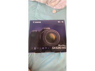 cámara Canon SX530HS, Como Nueva , Puerto Rico