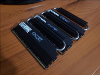 OCZ Memory RAM DDR2 6GB (3x 2GB) 800Mhz, Puerto Rico