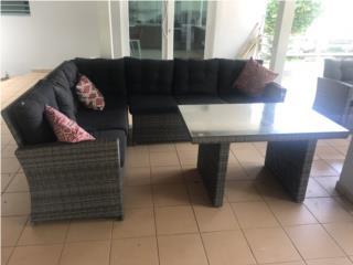Mueble secciónal de patio, Puerto Rico