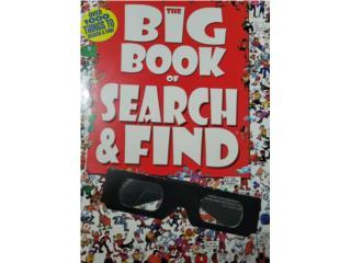 Libros de busqueda de objetos , Puerto Rico