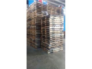 paletas de madera usadas., Puerto Rico