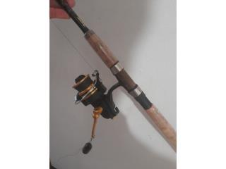 Reel Penn 4500 con vara,,,ready pal agua..., Puerto Rico