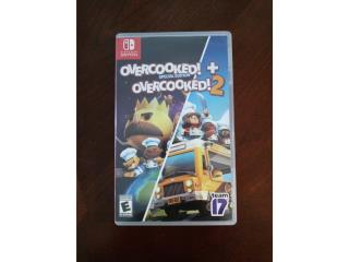 Overcooked 1 y 2 para switch, Puerto Rico