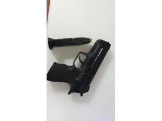 Pistola de Salva 9mm, Puerto Rico