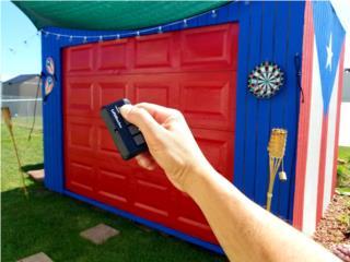 Puertas de garage con baterias de respaldo, Puerto Rico
