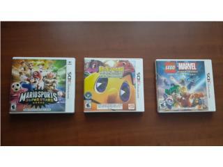 Juegos para Nintendo 3ds, Puerto Rico
