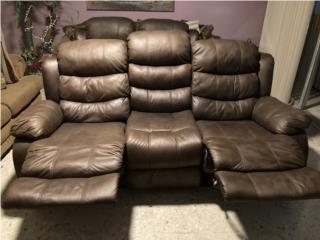 Sofá y love seat reclinable , Puerto Rico