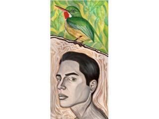 "ARTE PARA PADRES-""SAN PEDRITO"" 12""x24""-$500 , Puerto Rico"